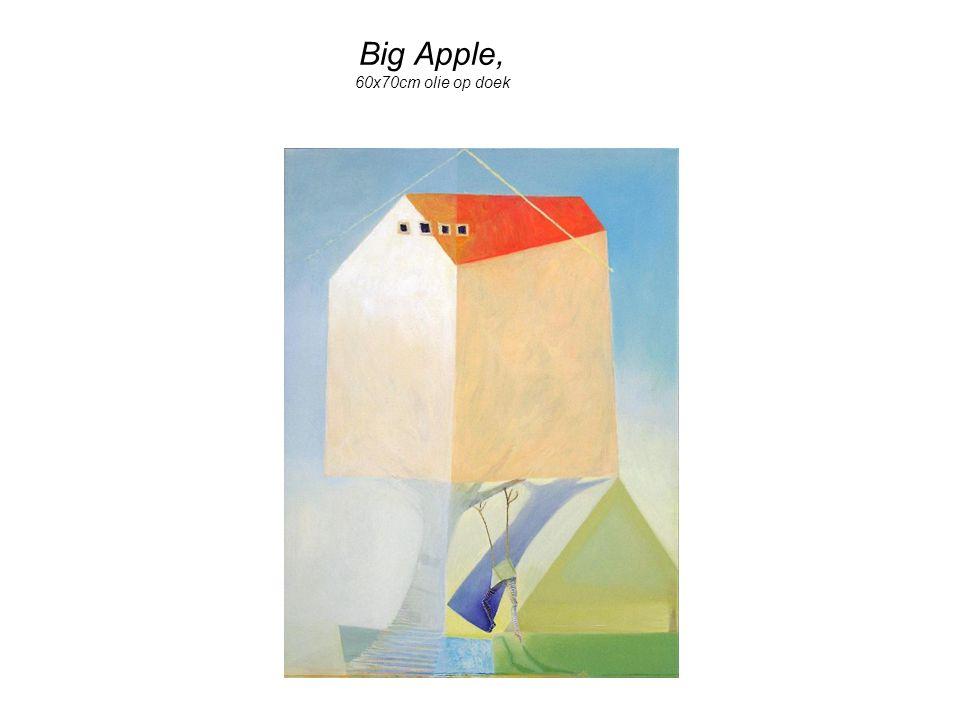 Big Apple, 60x70cm olie op doek