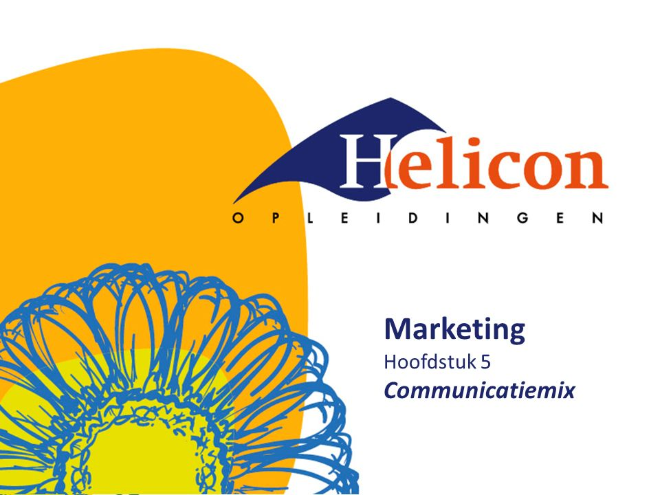 Marketing Hoofdstuk 5 Communicatiemix