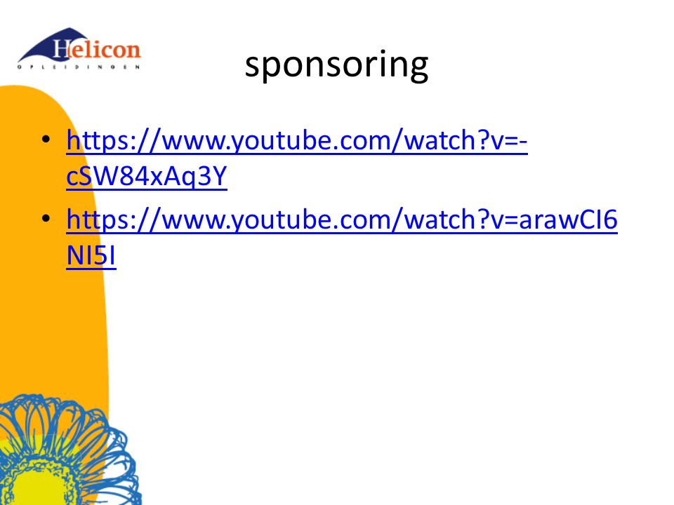 sponsoring https://www.youtube.com/watch v=-cSW84xAq3Y
