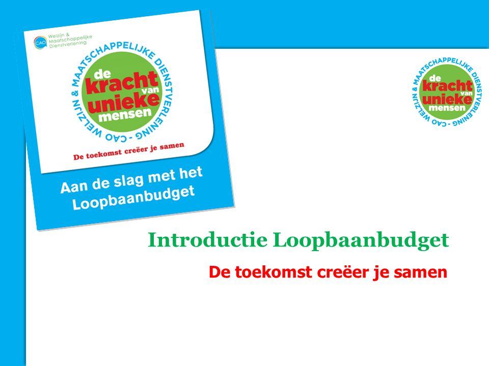 Introductie Loopbaanbudget