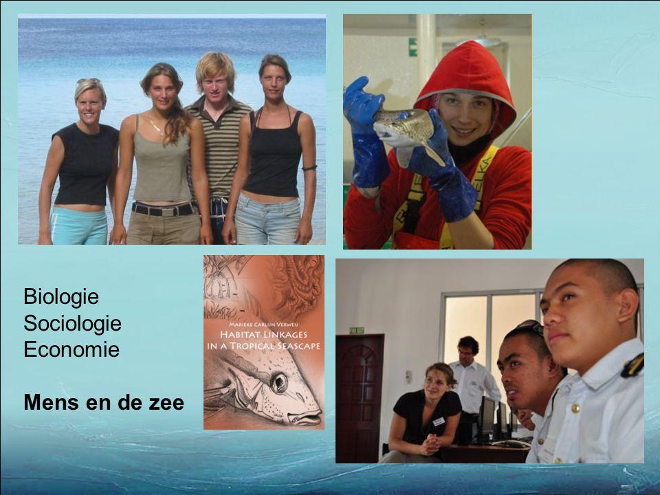 Biologie Sociologie Economie Mens en de zee