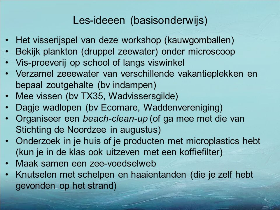 Les-ideeen (basisonderwijs)