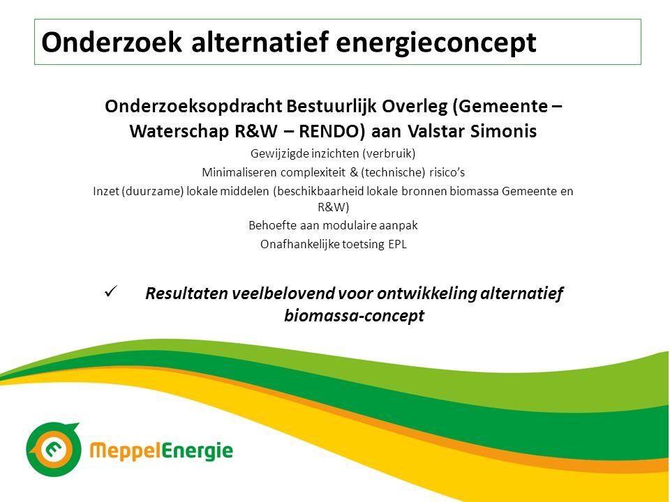 Resultaten veelbelovend voor ontwikkeling alternatief biomassa-concept