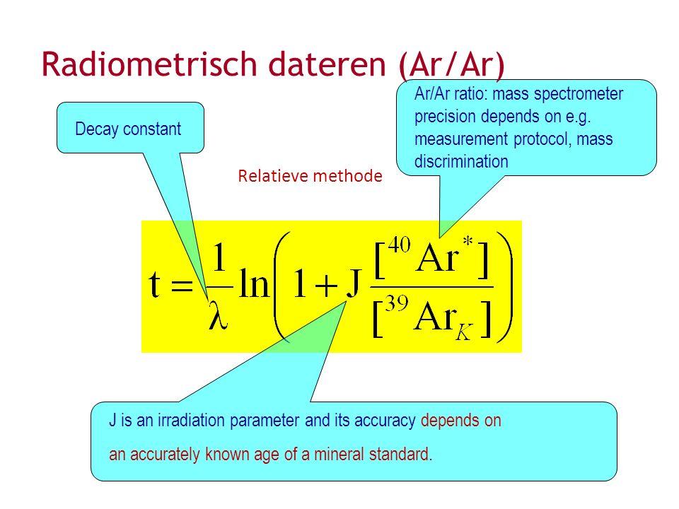 Radiometrisch dateren (Ar/Ar)