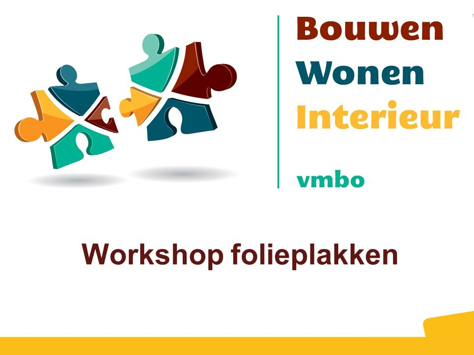 Workshop folieplakken