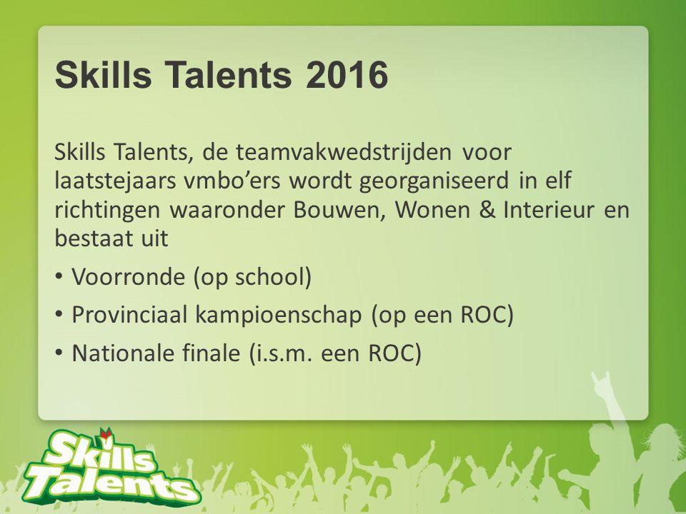 Skills Talents 2016
