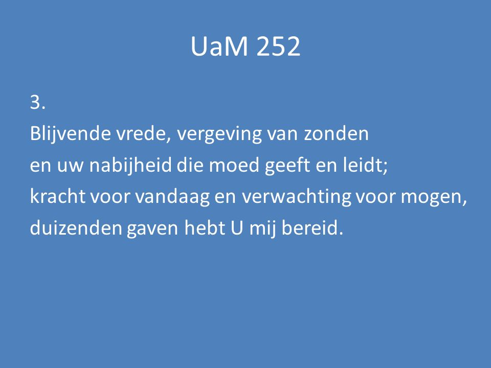 UaM 252