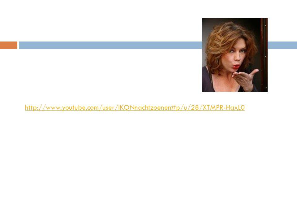 http://www.youtube.com/user/IKONnachtzoenen#p/u/28/XTMPR-HaxL0 Annemiek Schrijver is de interviewster.