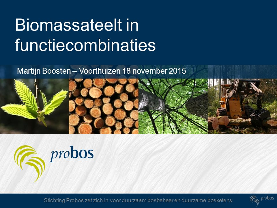 Biomassateelt in functiecombinaties