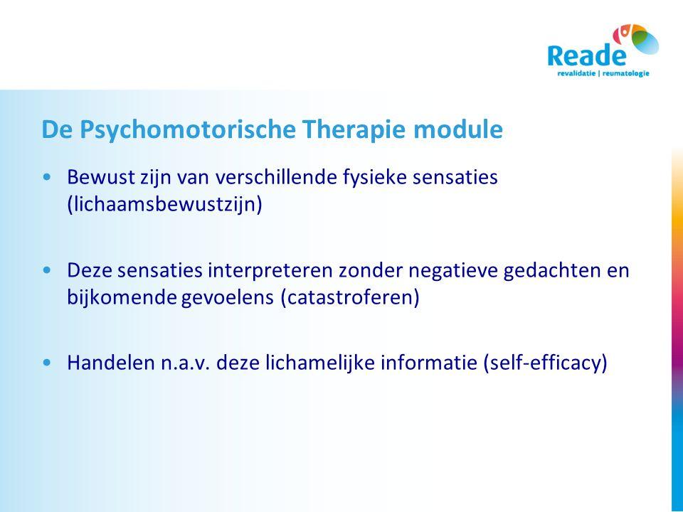 De Psychomotorische Therapie module