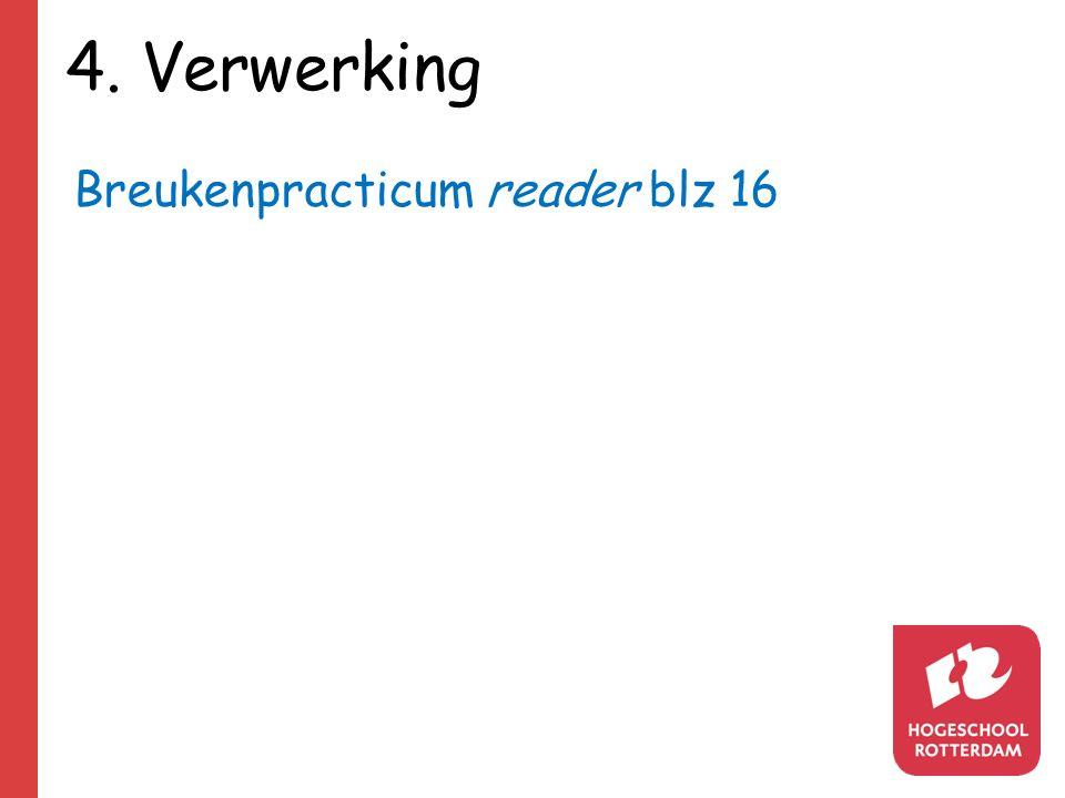 4. Verwerking Breukenpracticum reader blz 16