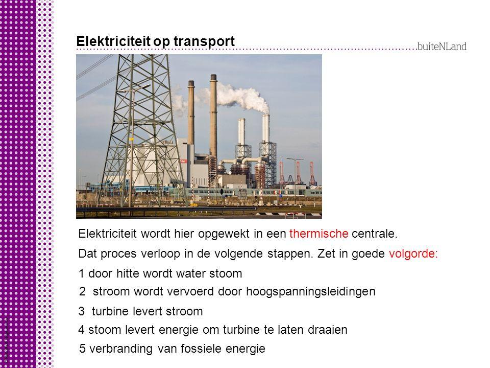 Elektriciteit op transport