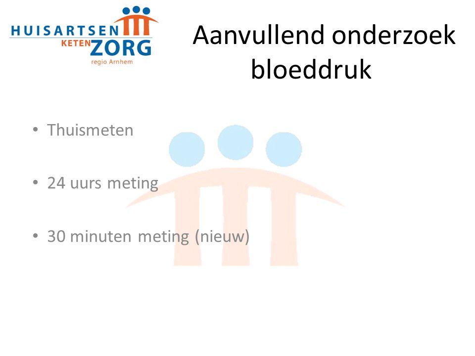 Aanvullend onderzoek bloeddruk