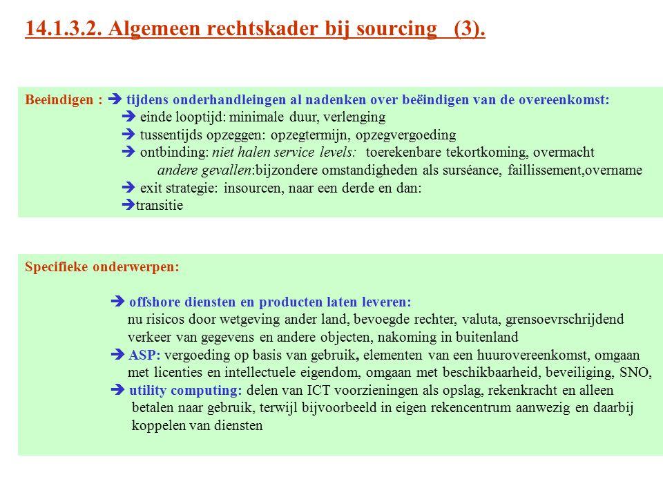 14.1.3.2. Algemeen rechtskader bij sourcing (3).