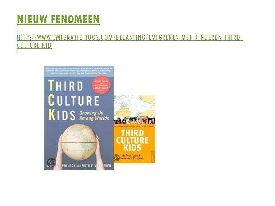 Nieuw fenomeen http://www. emigratie-toos