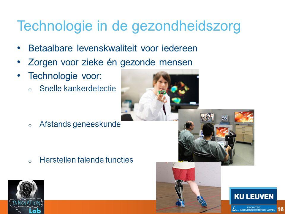 Technologie in de gezondheidszorg