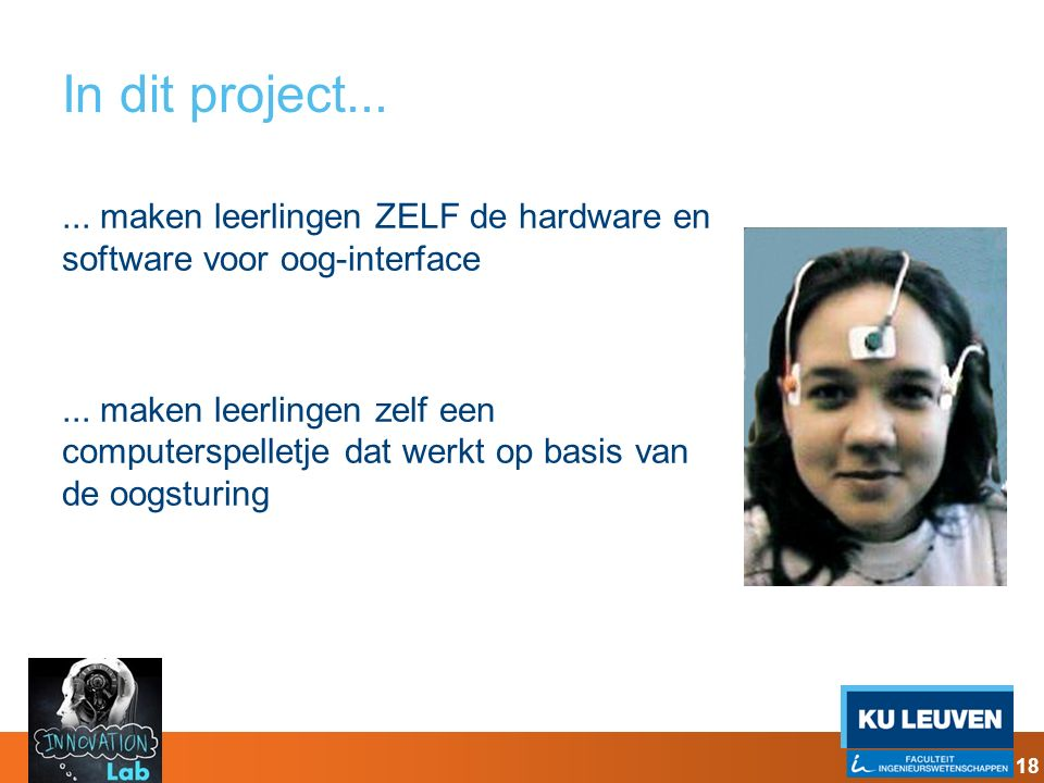 In dit project...