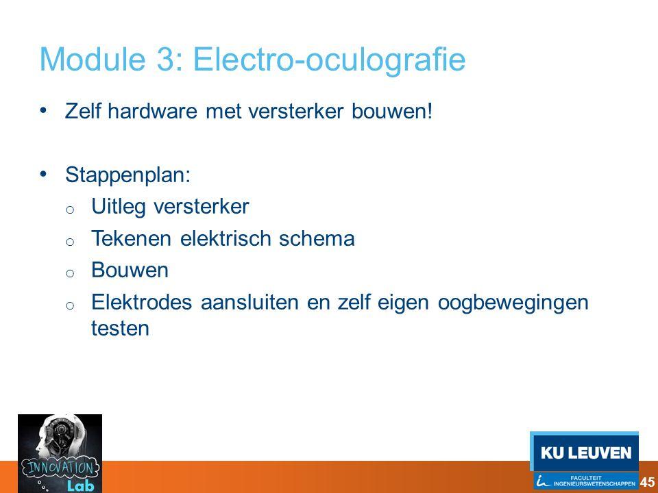 Module 3: Electro-oculografie