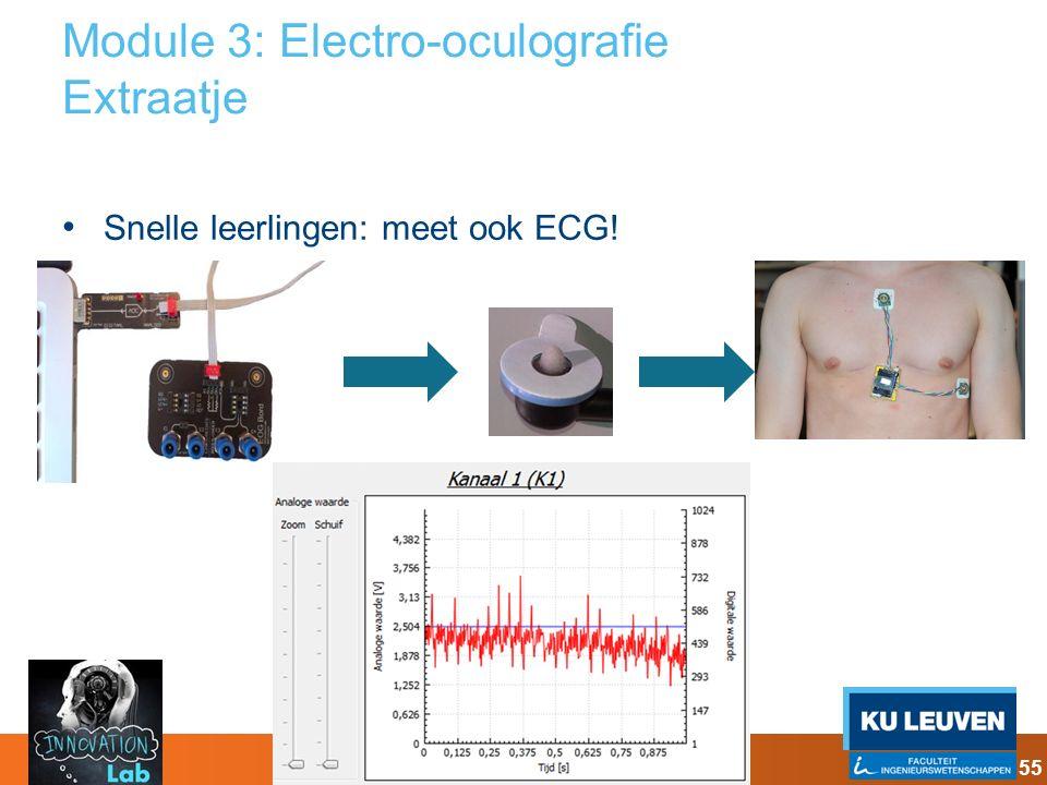 Module 3: Electro-oculografie Extraatje