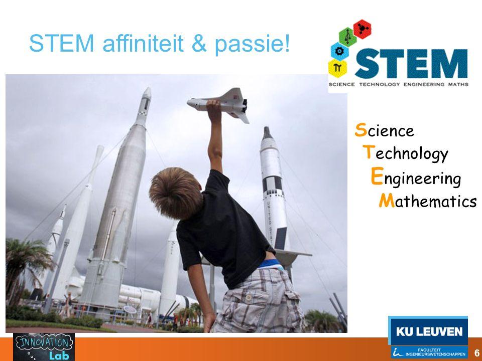 STEM affiniteit & passie!