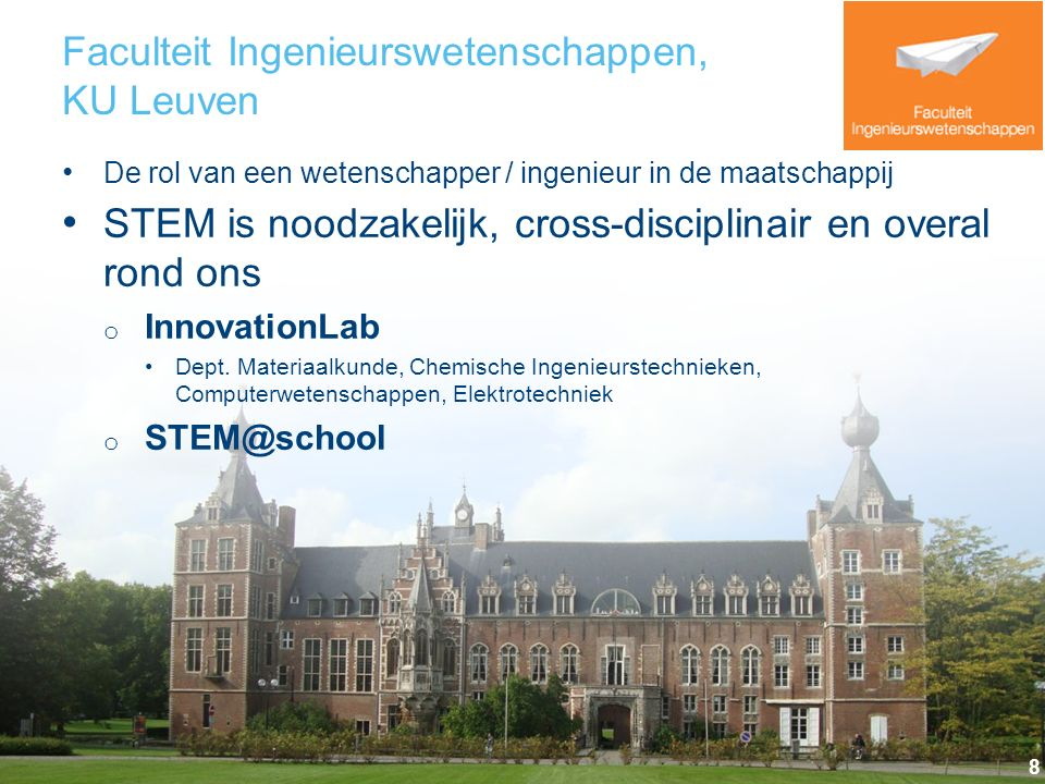 Faculteit Ingenieurswetenschappen, KU Leuven