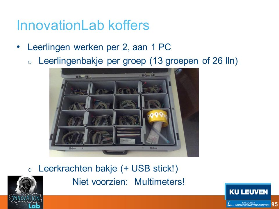 InnovationLab koffers