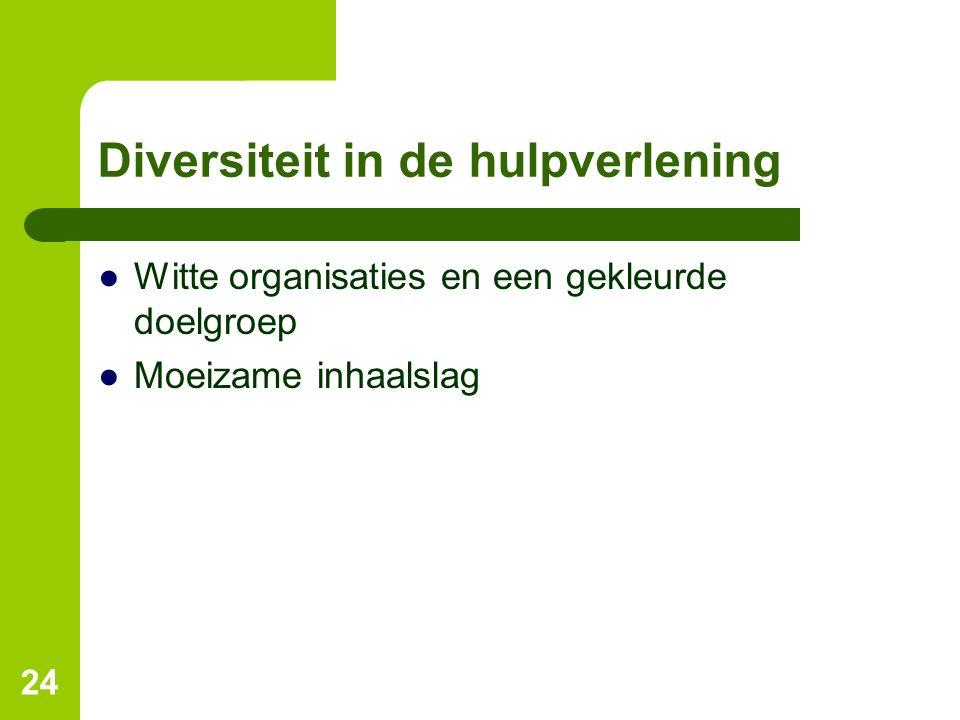 Diversiteit in de hulpverlening