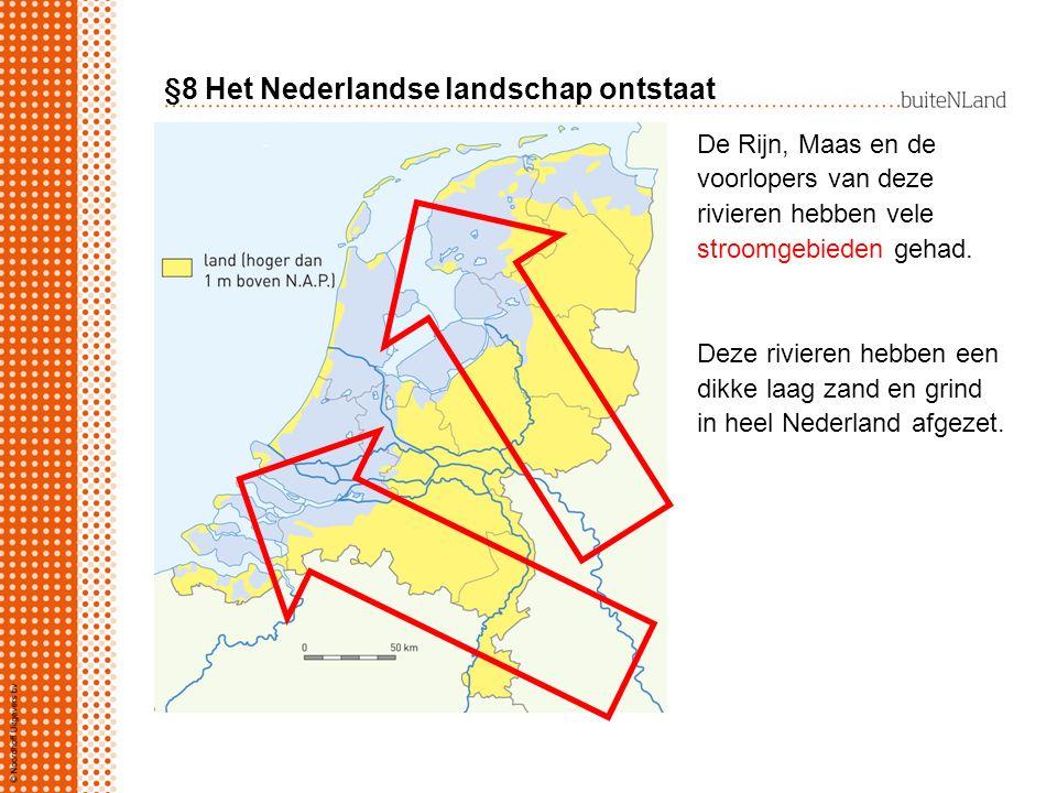 §8 Het Nederlandse landschap ontstaat
