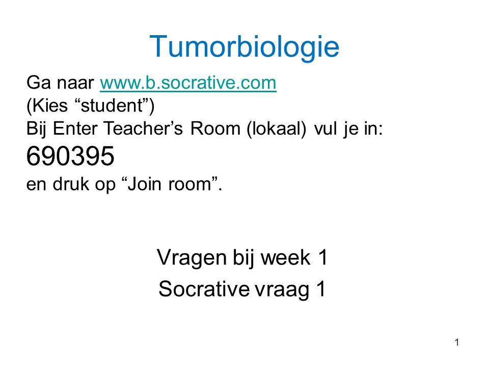 Vragen bij week 1 Socrative vraag 1