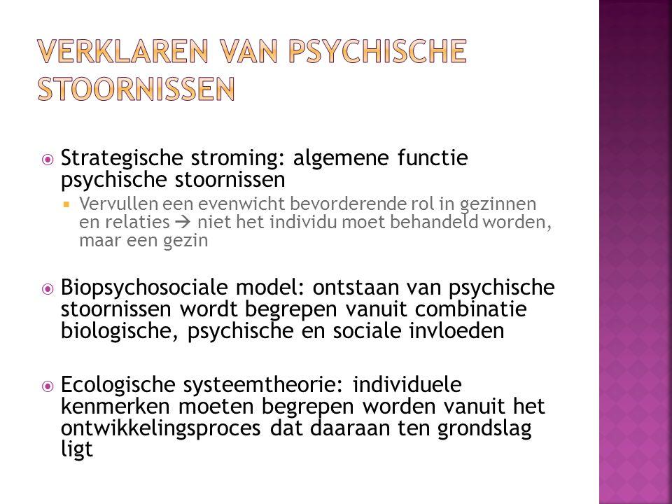 Verklaren van psychische stoornissen