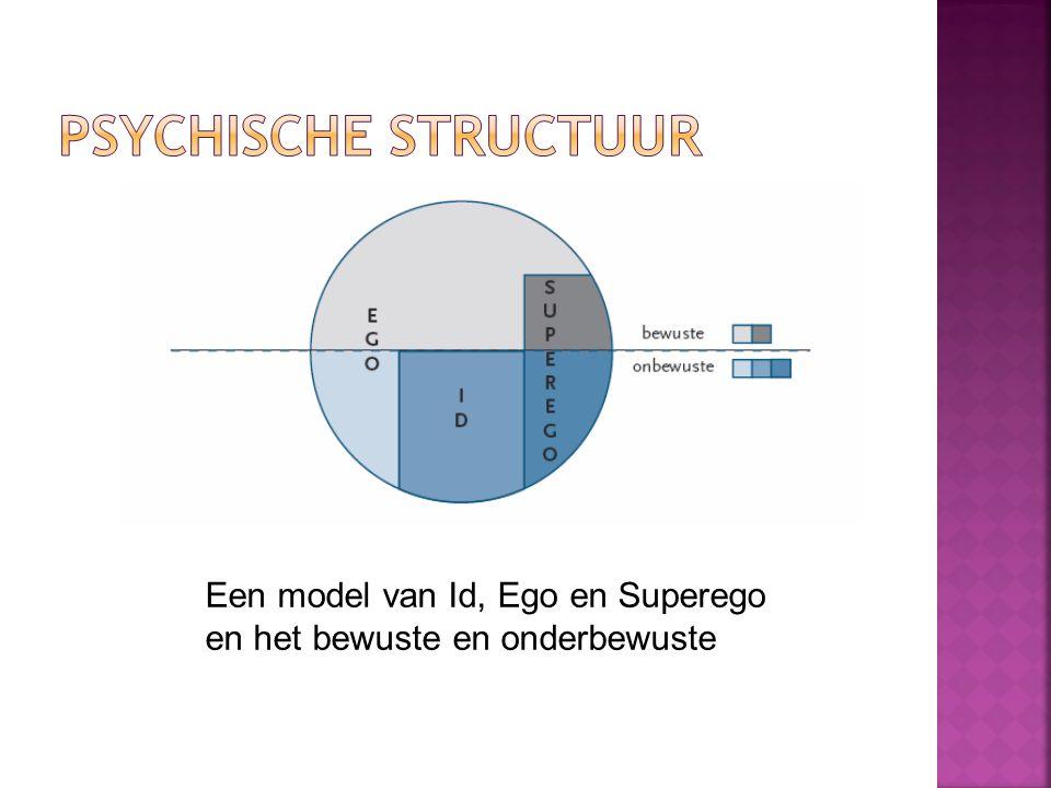 Psychische structuur Een model van Id, Ego en Superego