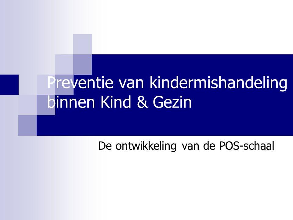 Preventie van kindermishandeling binnen Kind & Gezin