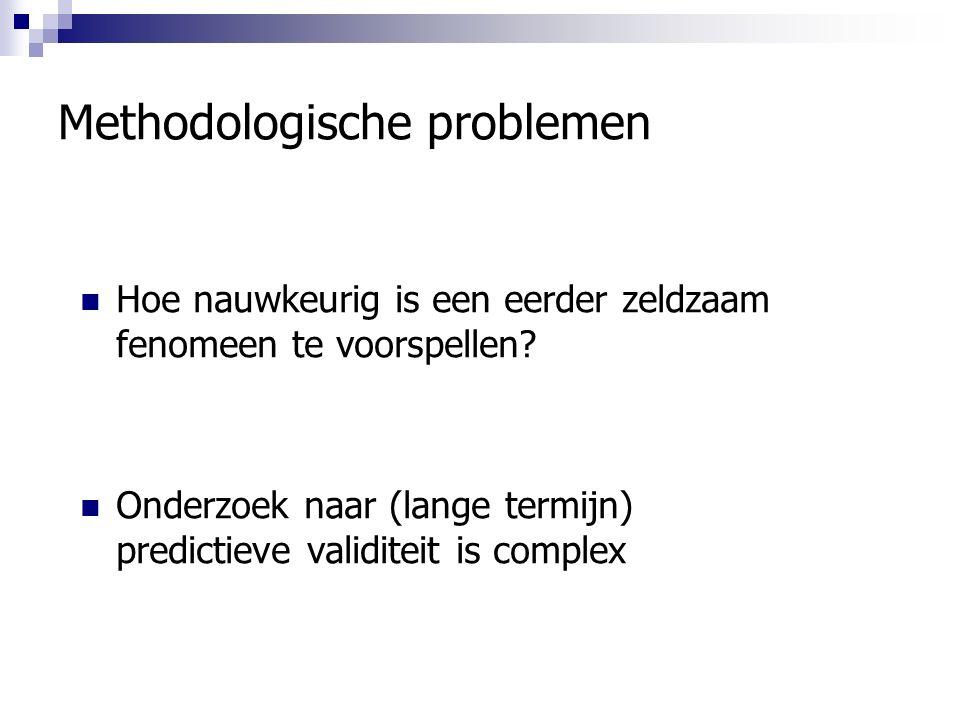 Methodologische problemen