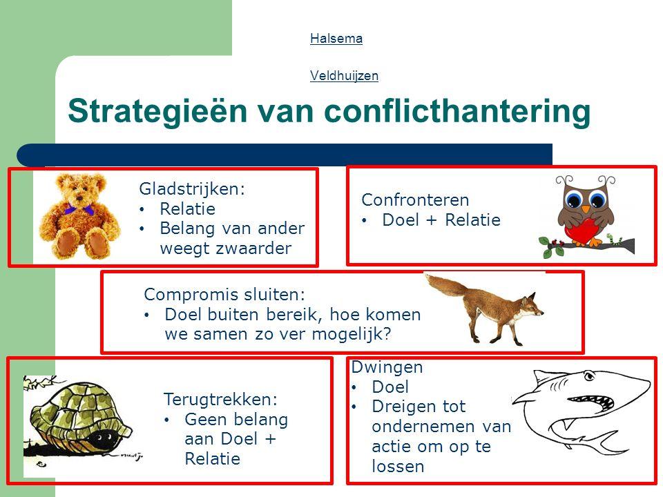 Strategieën van conflicthantering