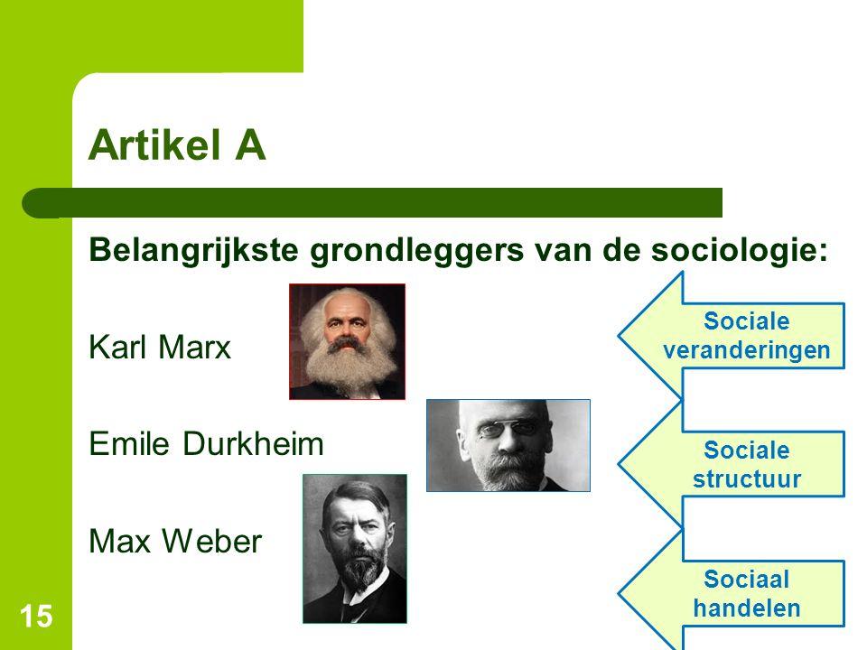 Sociale veranderingen