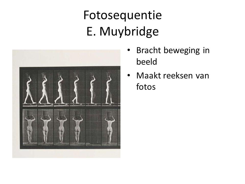 Fotosequentie E. Muybridge