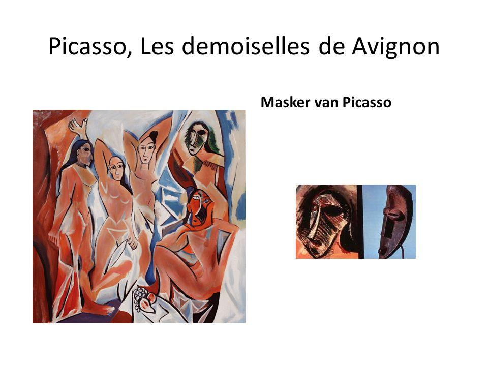 Picasso, Les demoiselles de Avignon
