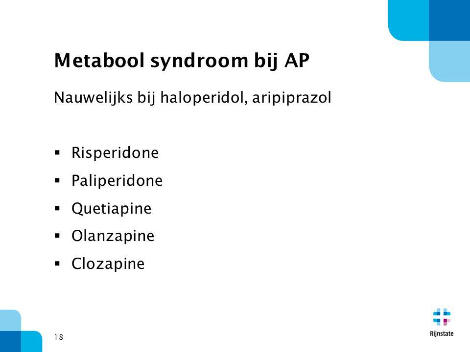 Metabool syndroom bij AP