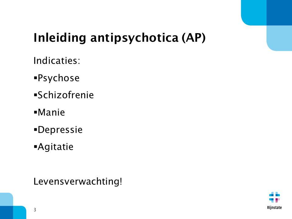 Inleiding antipsychotica (AP)