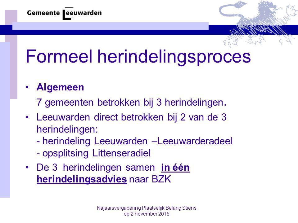 Formeel herindelingsproces