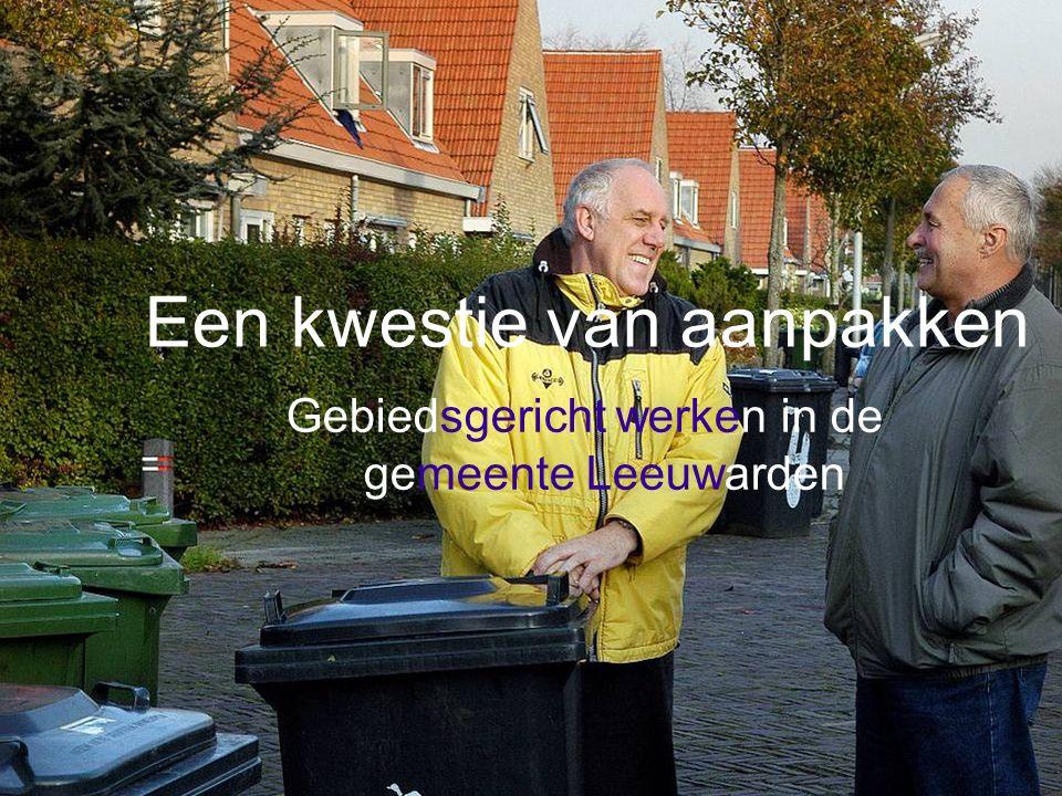Gebiedsgericht werken in de gemeente Leeuwarden