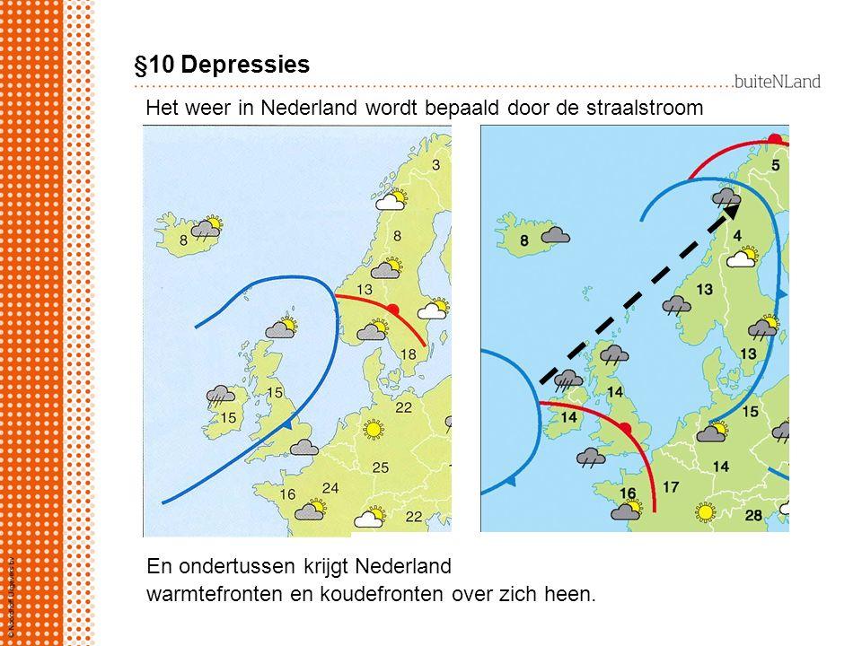 Het weer in Nederland wordt bepaald door de straalstroom