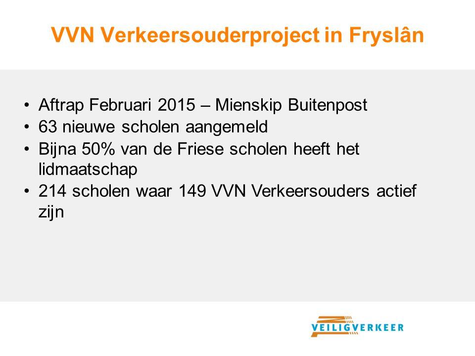VVN Verkeersouderproject in Fryslân