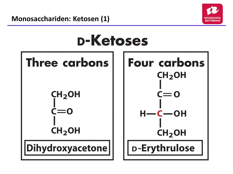 Monosacchariden: Ketosen (1)