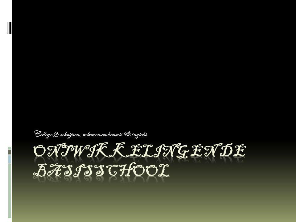 Ontwikkeling en de basisschool