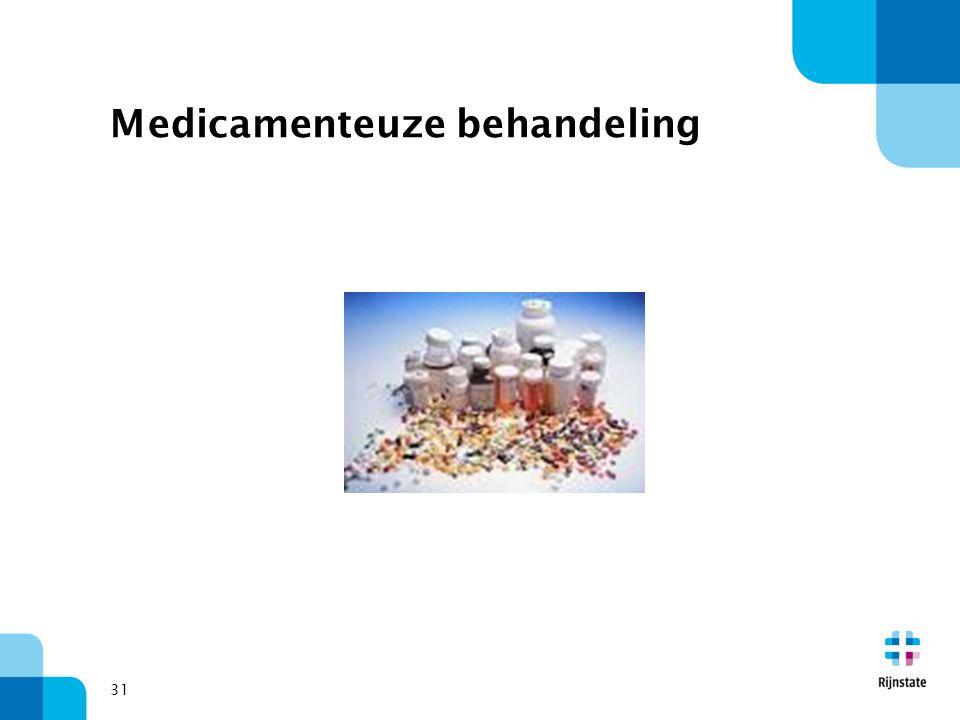 Medicamenteuze behandeling
