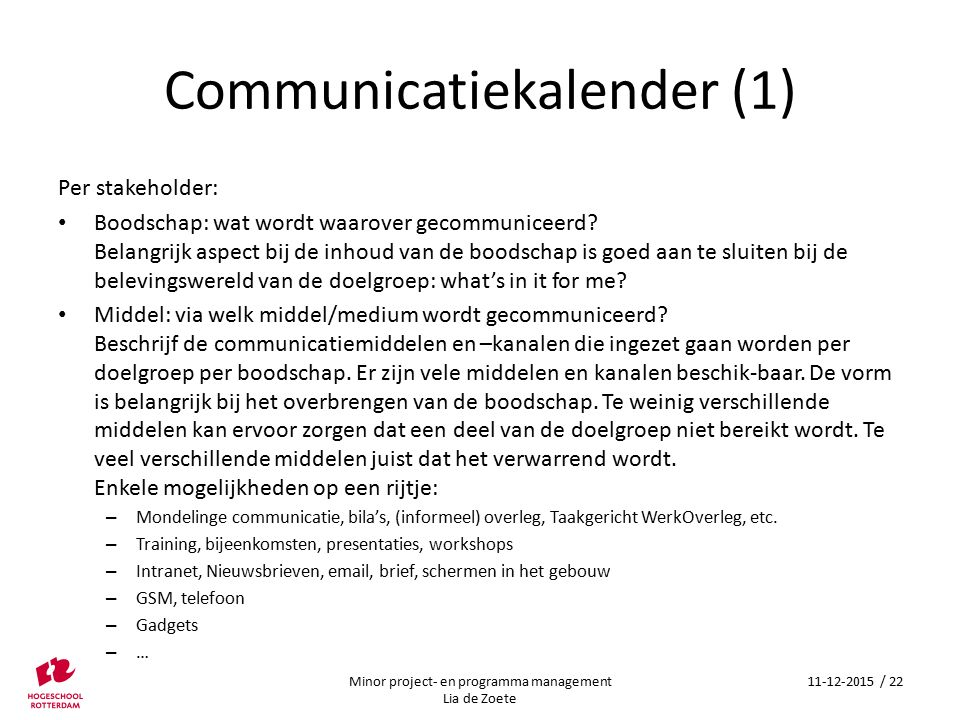 Communicatiekalender (1)