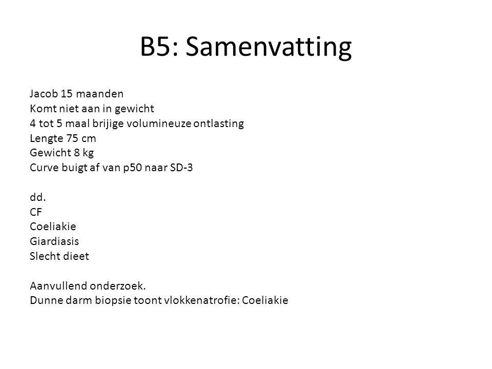 B5: Samenvatting