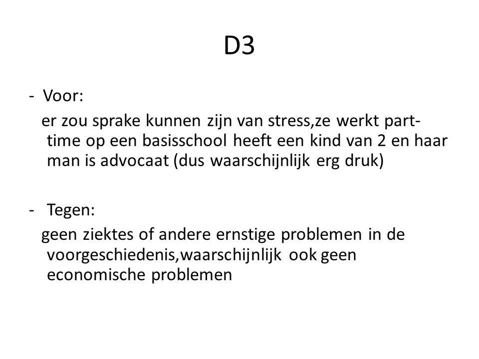 D3 - Voor: