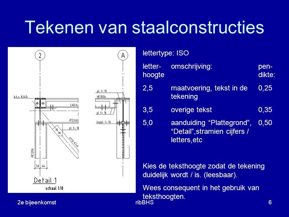 Tekenen van staalconstructies